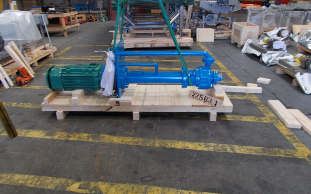 Export Packing to Saudi Arabia-Sewage Sump Pump