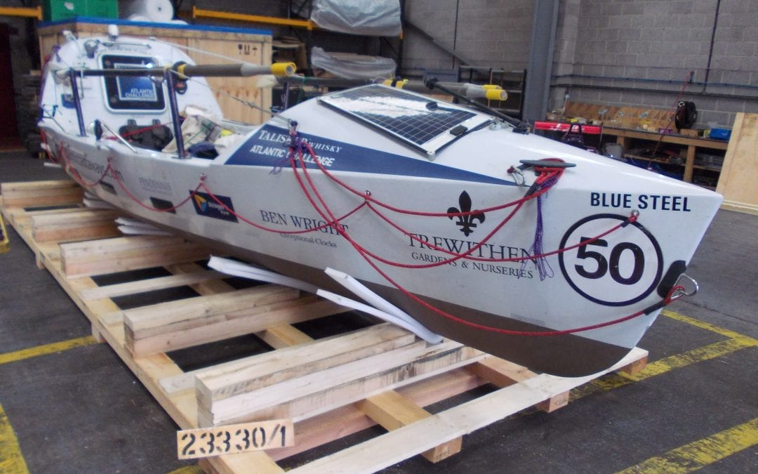 Packing Atlantic Castaways Boat