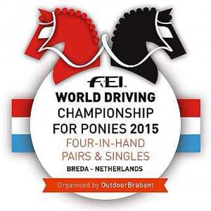 Good Luck to Bennington Carriages-World driving championships – ponies 2015