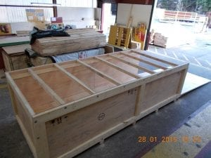 motorbike crate makers