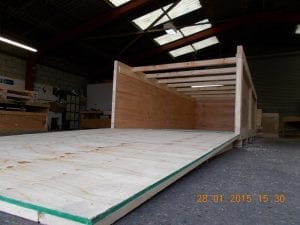 suppliers of wooden shipping crates
