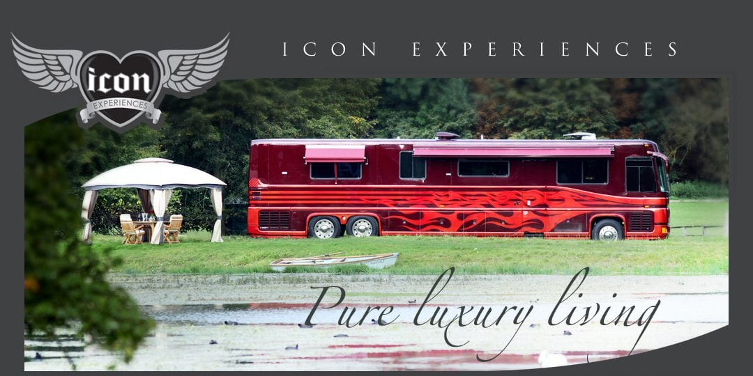 F1 star Sergio Perez chose the Icon F1 Motor Home