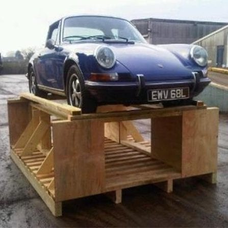 International Export packers can ship your car to anywhere in the world.