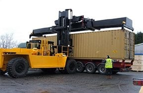 With our massive lifting equipment we are able to ship containers from our HQ inNewark, UK to anywhere in the world. Alternatively we can pick up from your premises and ship to anywhere in the world. We can even pick the load up from your premises and send it across the globe.