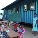 Schools - Re-purposed shipping containers