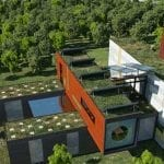 Bioclimatic homes -Great ideas for re-using shipping containers
