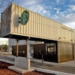 Coffee shops and cafes - Recycle that shipping container